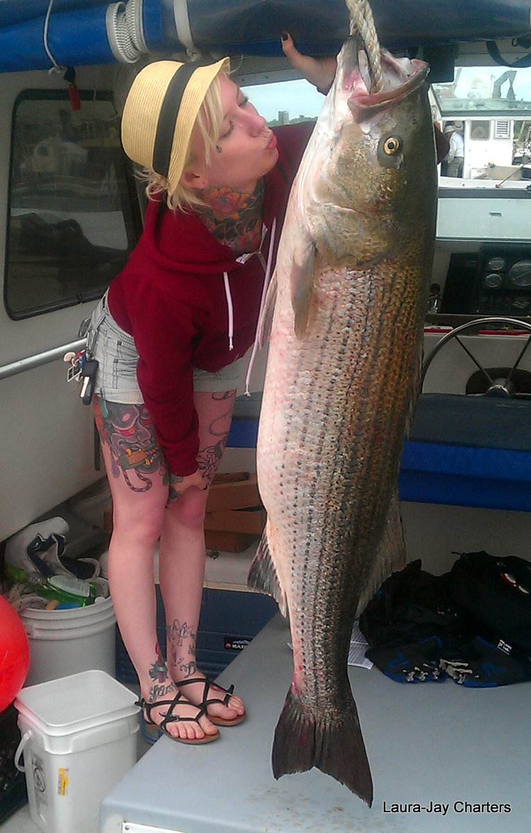 Stripers Cape Cod Fishing Charters